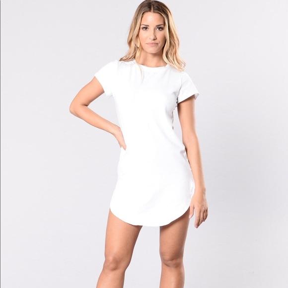 f81548d21b Fashion Nova Dresses   Skirts - Tori Tunic - White - Medium